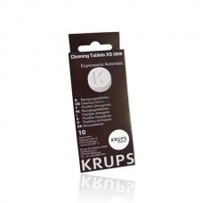 Reinigingstabletten voor Krups koffiemachines 10 stuks - XS3000